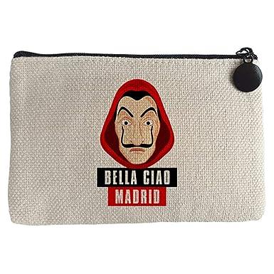 Monedero Bella Ciao Máscara Dalí Madrid - Beige, 15 x 10 cm ...
