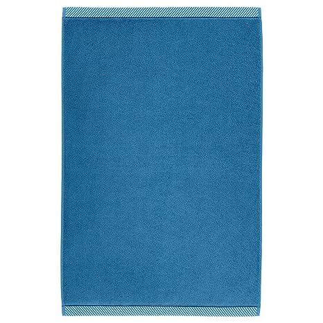 IKEA ASIA VIKFJARD - Alfombrilla de baño, Color Azul