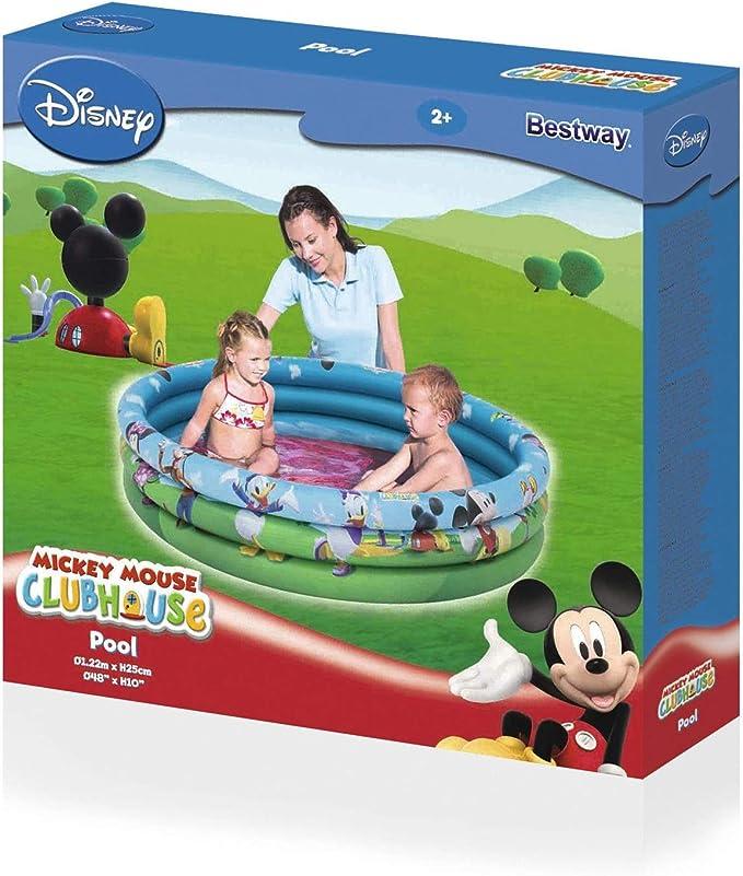 Piscina Hinchable Mickey Mouse Club House: Amazon.es: Jardín