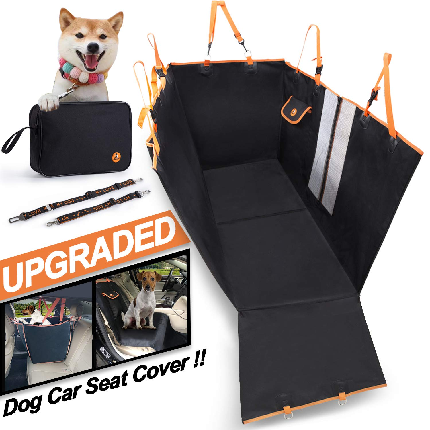 MOVEPEAK Waterproof Seat Cover For Dogs