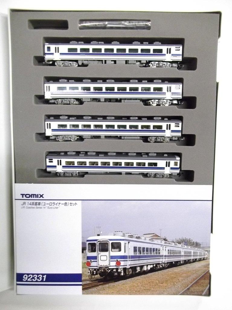 TOMIX Nゲージ 14系 ユーロ色セット 4両 92331 鉄道模型 客車 B003698LX0