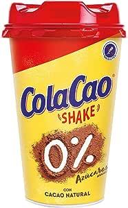 Cola Cao Shake 0% - 200 ml: Amazon.es: Alimentación y bebidas