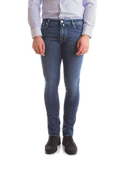 rivenditore online 5f2e7 d7006 Jacob Cohen Men's JCU02PW69600918BLUE Blue Jeans: Amazon.co ...