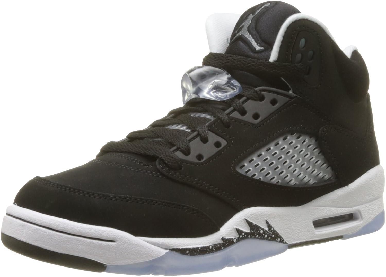 Nike BG Air Jordan 5 Retro 'Oreo' Black