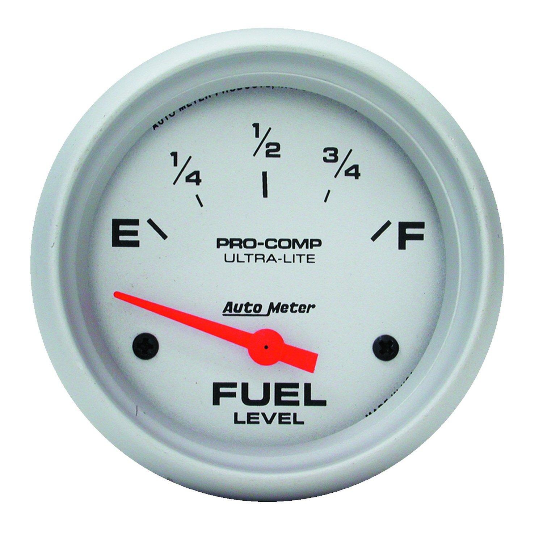 Auto Meter 4414 Ultra-Lite Short Sweep Electric Fuel Level Gauge