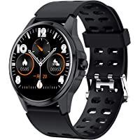 Smart Watch, Full Touch Screen Fitness Tracker with Heart Rate Sleep Monitor, Ip67 Waterproof…