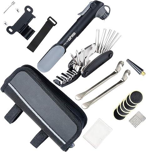 AUERVO - Kit de Herramientas 16 en 1 para reparación de neumáticos ...