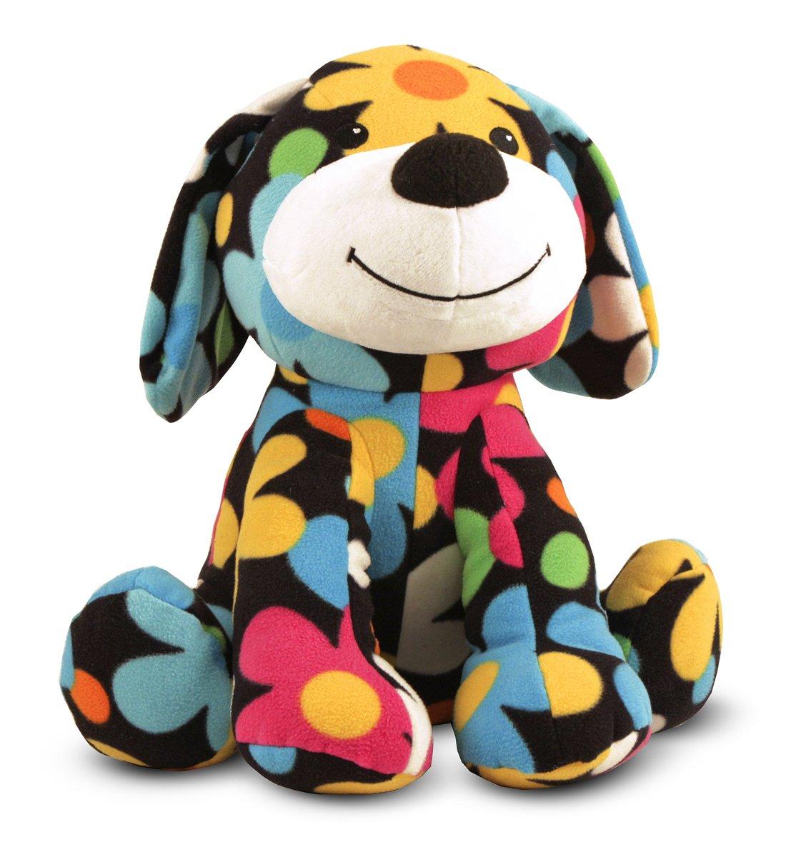 Melissa & Doug Bloomer Dog - Patterned Pal Stuffed Animal