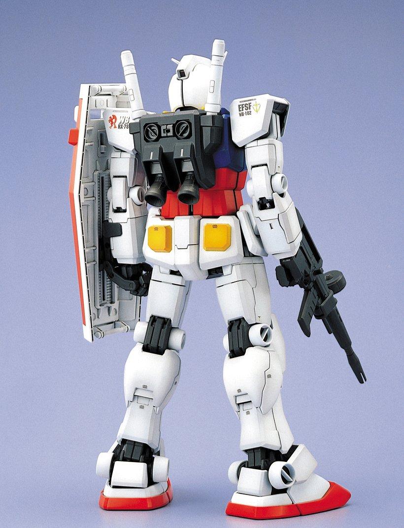 "RX-78 T Amazon.com: Bandai Hobby RX-78-2 Gundam ""Mobile Suit Gundam"" Perfect Grade Action Figure, Scale 1:60: Toys & Games"