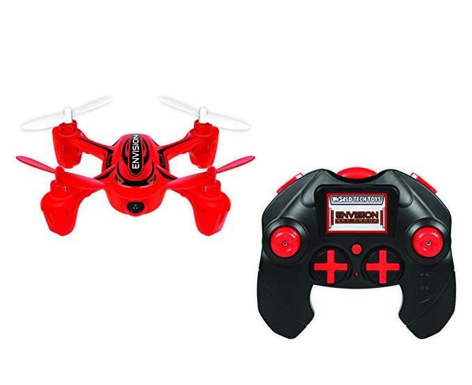 World Tech Toys 2 4 GHz 4 5 Channel Envision Spy Drone Picture & Video  Remote Control Quadcopter