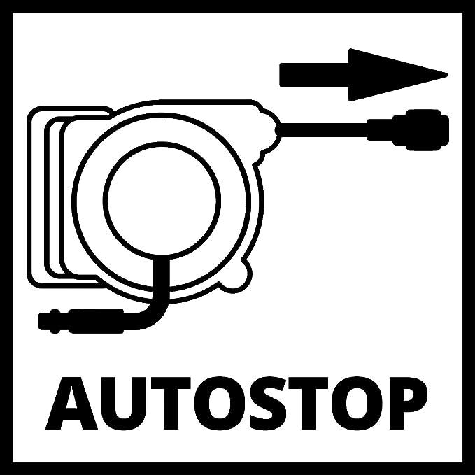 Amazon.com: Einhell Grey DLST 9+1 Automatik Hose Roller ...