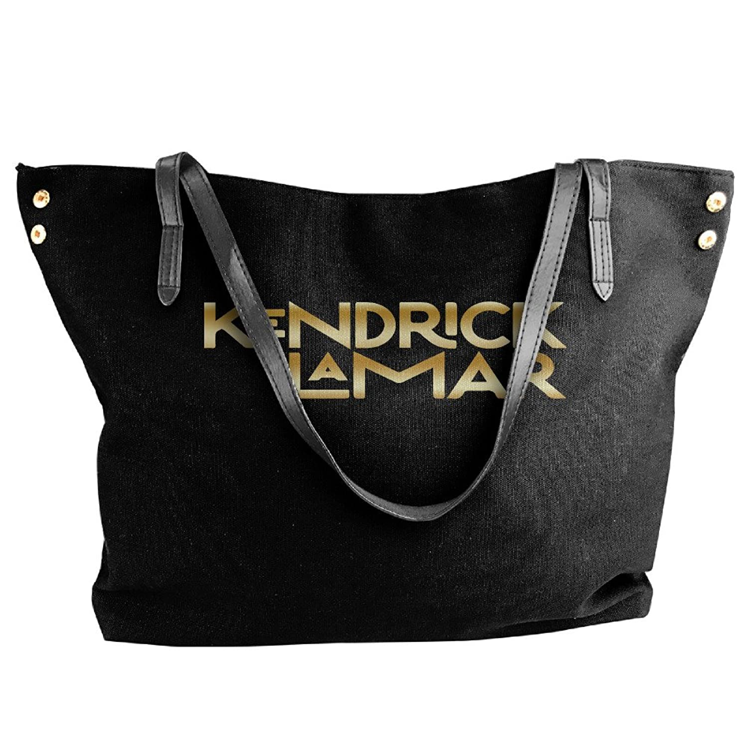 Kendrick Lamar Gold Logo Women Shoulder Bags