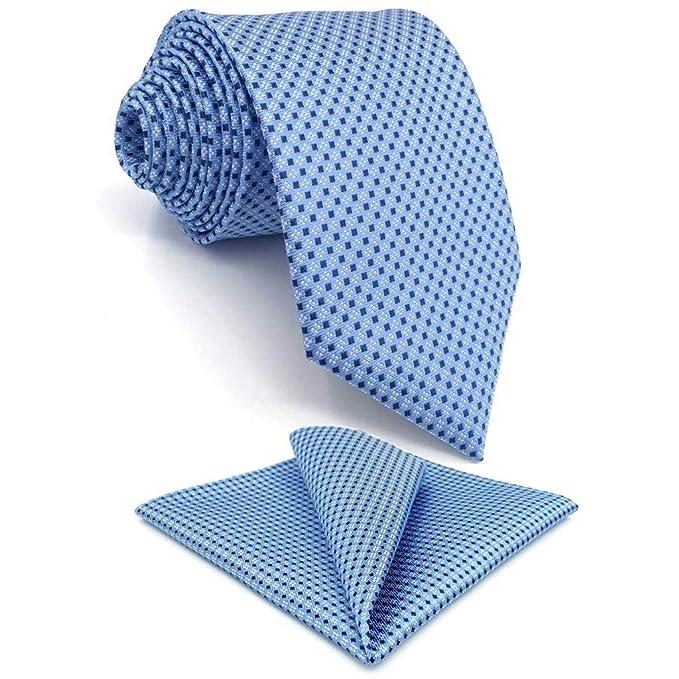 shlax&wing Corbata Para Hombre azul Extra lang Krawatte 160cm×9cm ...