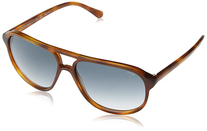 Lozza Sl1827L Gafas de Sol, Azul (Shiny Light Havana), Talla ...