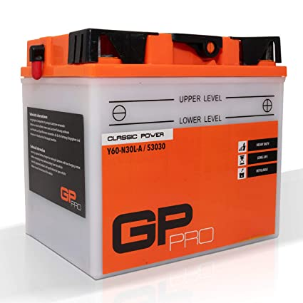 GP Batería de Pro Classic Power 12 V 30 Ah con Acid Pack ...