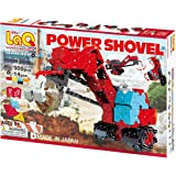 LaQ Hamacron Constructor Power Shovel - 7 Models, 300 Pieces - Creative Construction Toy