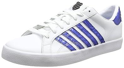 K-suisse Belmont Donc, Chaussures Femmes, Blanc (blanc / Vert Émeraude), 39 De L'ue