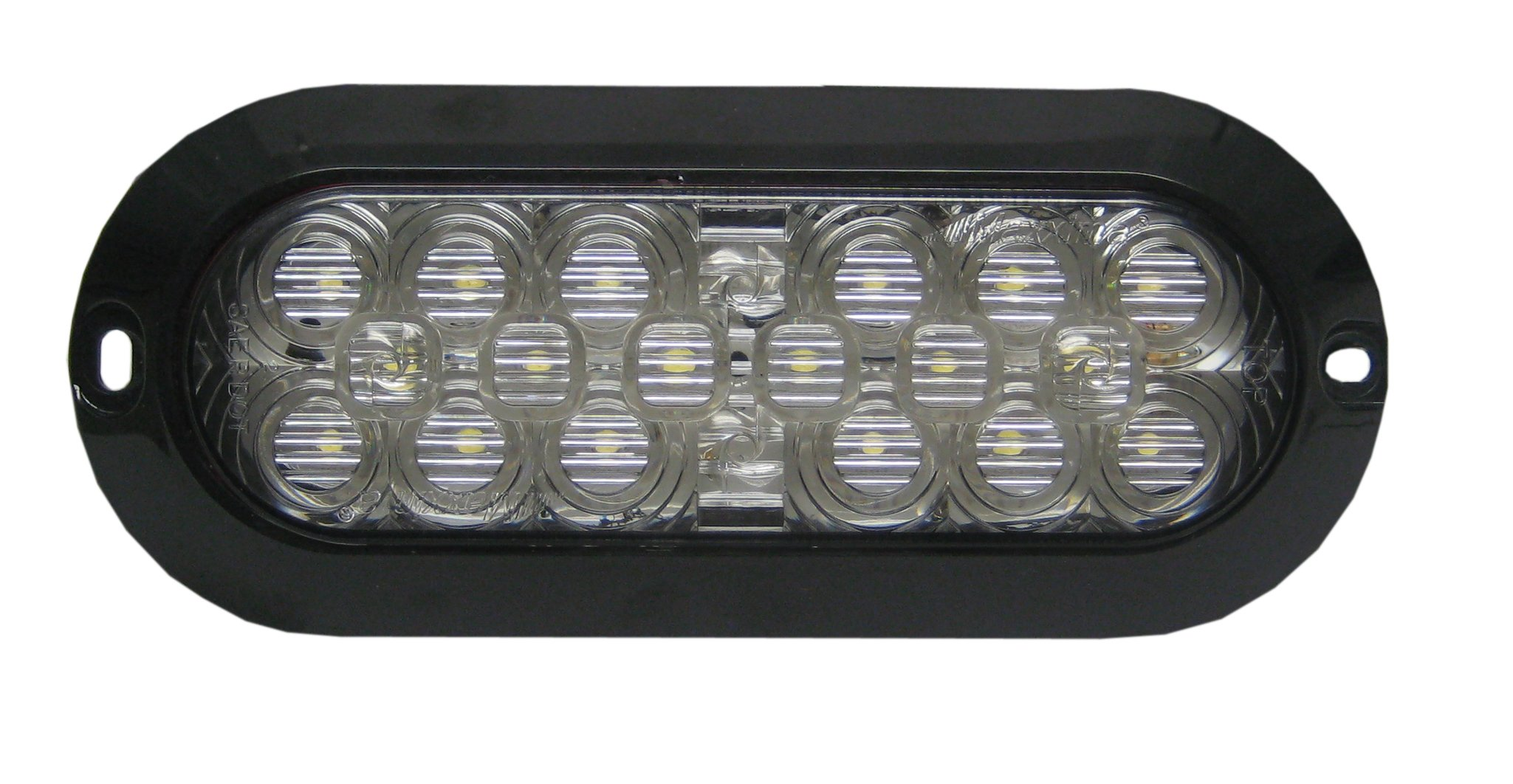 Maxxima M63320 18 LED White 6'' Oval Surface Mount Backup Light by Maxxima