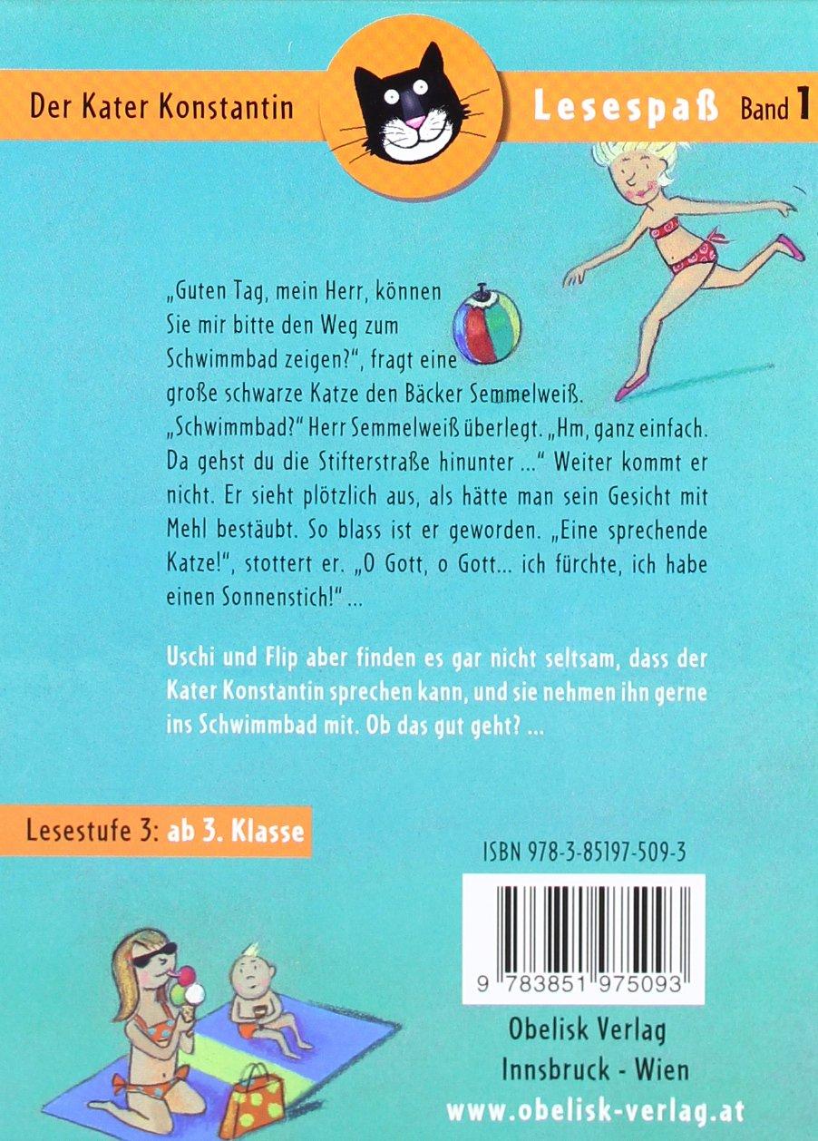 Der Kater Konstantin: Kater Konstantin im Schwimmbad Lesespaß ...