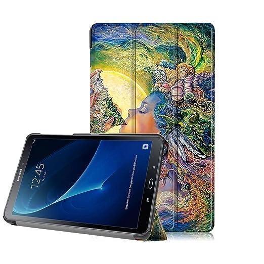 19 opinioni per Cover e Pelle per Samsung Tab A6 7.0/SM-T280N,Ultra Sottile di peso leggero PU