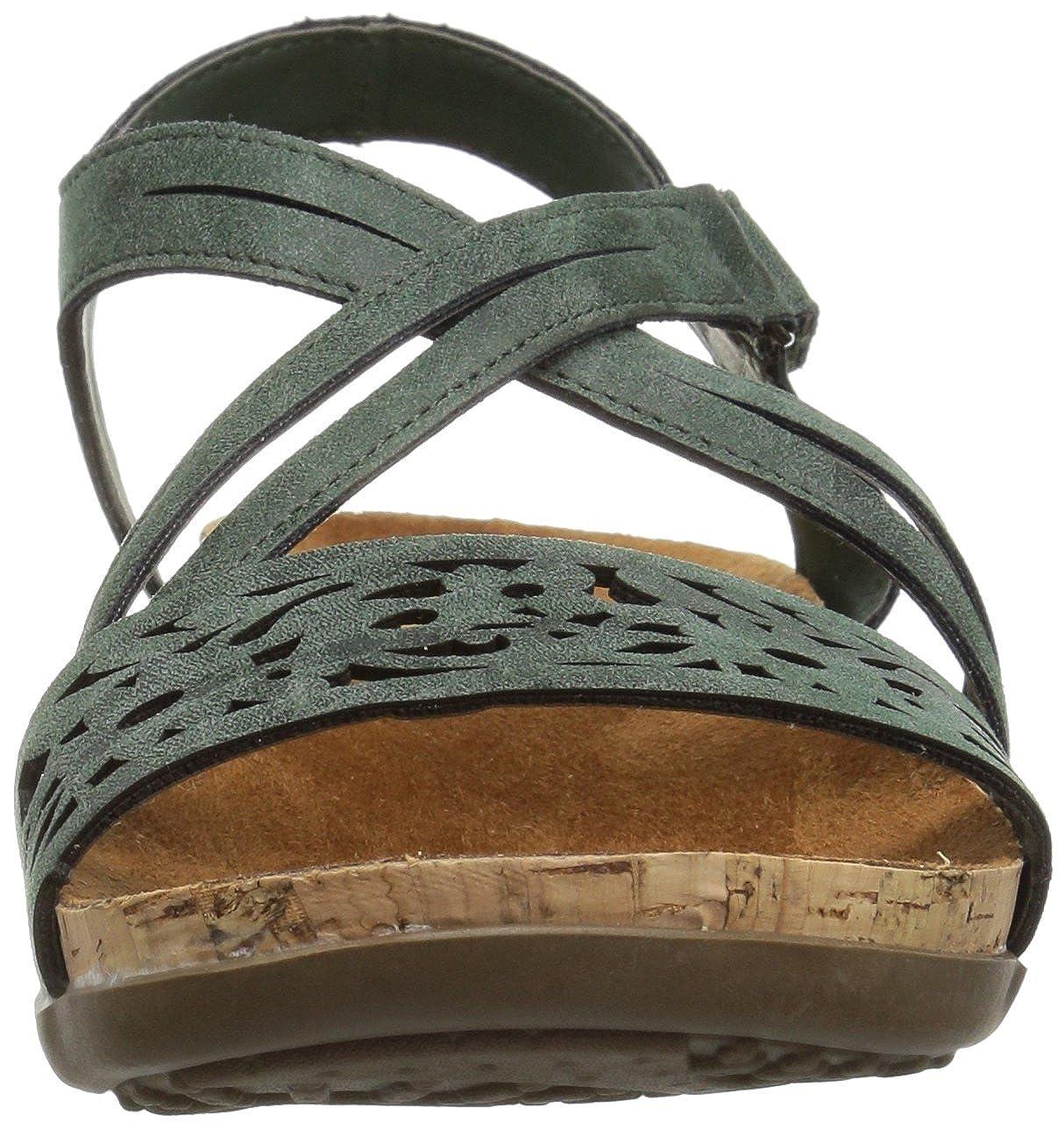 BEARPAW Damens's Glenda Heeled Sandale, US Marsh, 7 M US Sandale,  - 389f1a