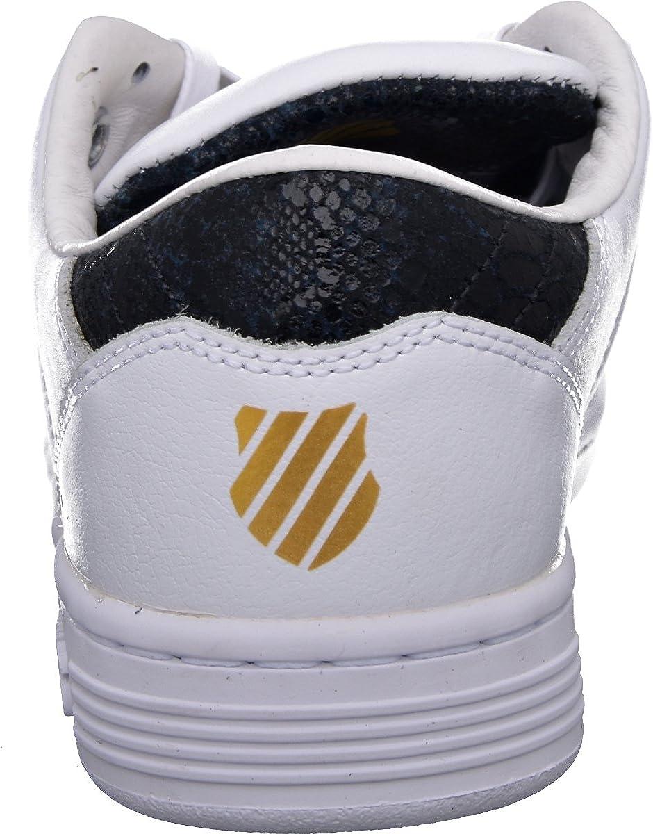 K-Swiss Lozan III TT Reptile Glam Damen Sneaker, Schuhe Weiß White 95294 197