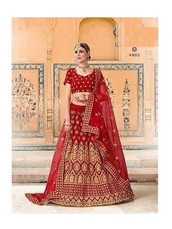 aad6314fa703 Amazon.com: designer bridal wedding lehenga choli for women Indian  traditional ethnic lengha choli: Clothing