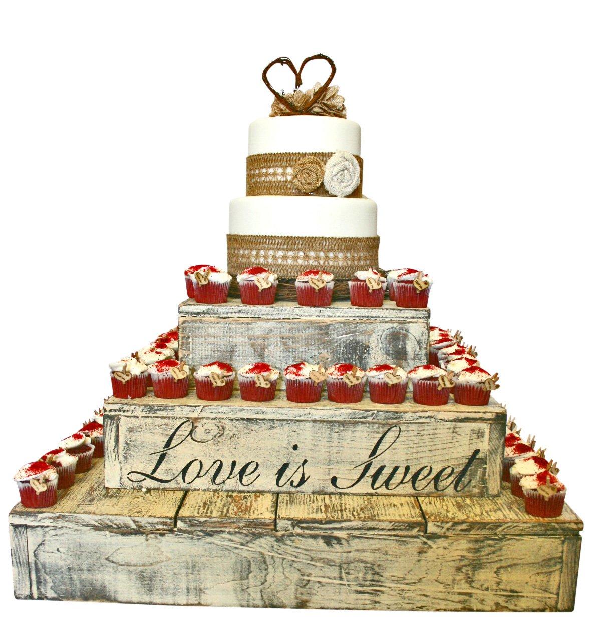Beautiful Rustic Wedding Cupcake Stands Ideas - Styles & Ideas 2018 ...