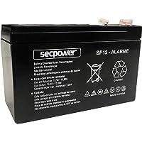 Bateria Selada Sp12-Alarme Secpower, Secpower, SP12-ALARME, Preto
