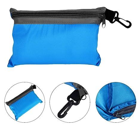 Delineador de Seda Saco de dormir, Newcomdigi Hoja de camping y viajes revestimientos de saco