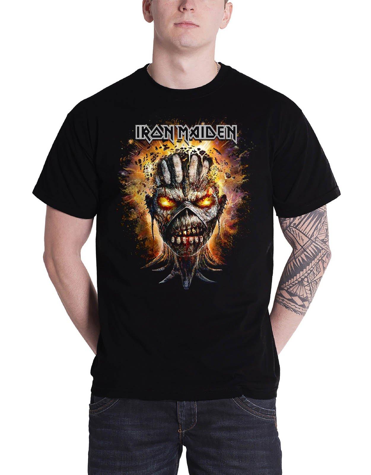 Iron Maiden 'Eddie Exploding Head' T-Shirt