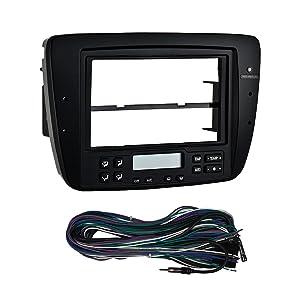 Metra 99-5719 2004-2007 Ford Tarus/Mercury Sable Electronic Climate Control Radio Install Kit (Black)