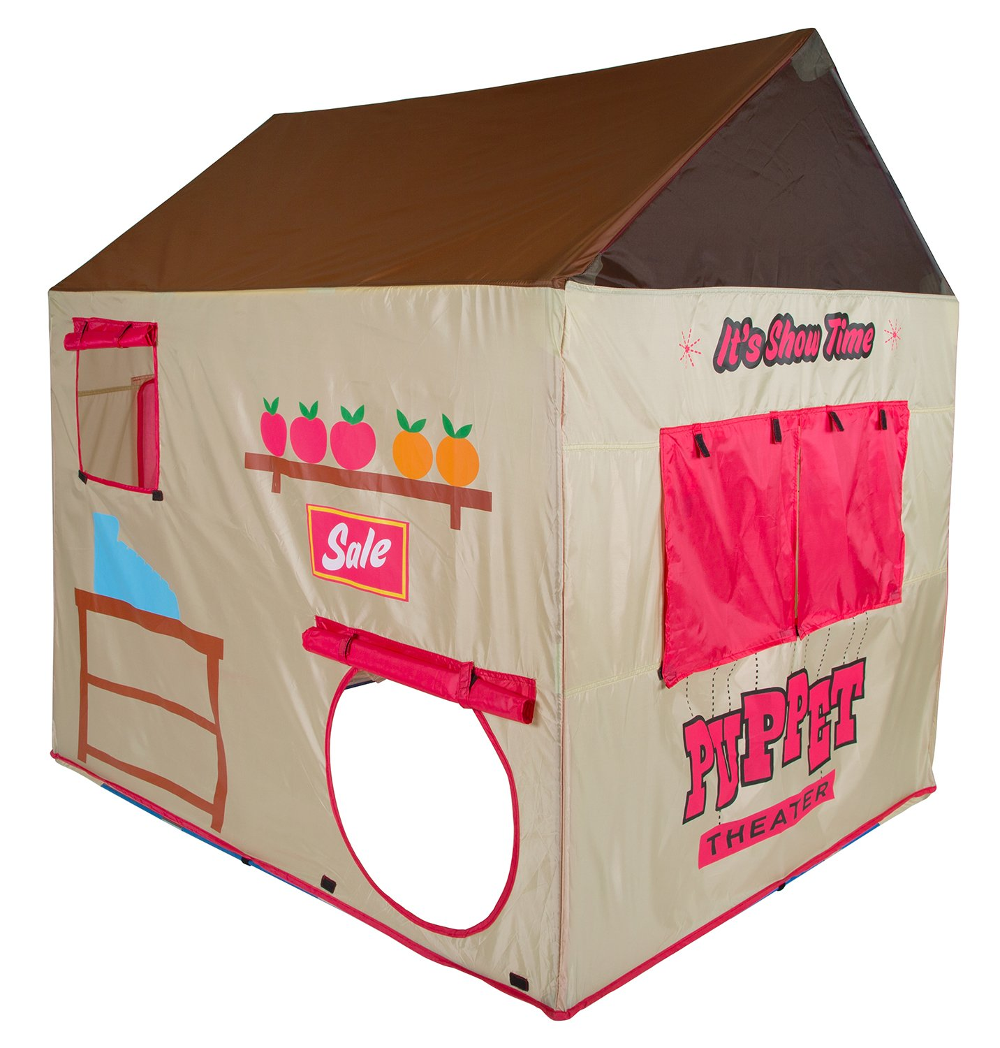 Amazon.com Pacific Play Tents Kids Grocery Store and Puppet Theater House Tent Playhouse - 58  x 48  x 58  Toys u0026 Games  sc 1 st  Amazon.com & Amazon.com: Pacific Play Tents Kids Grocery Store and Puppet ...