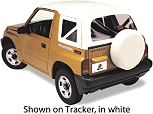 Bestop 51366-01 Black Crush Replace-A-Top Soft Top Clear Windows; No Door Skins Included for 1999-2004 Chevrolet Tracker/Suzuki Sidekick