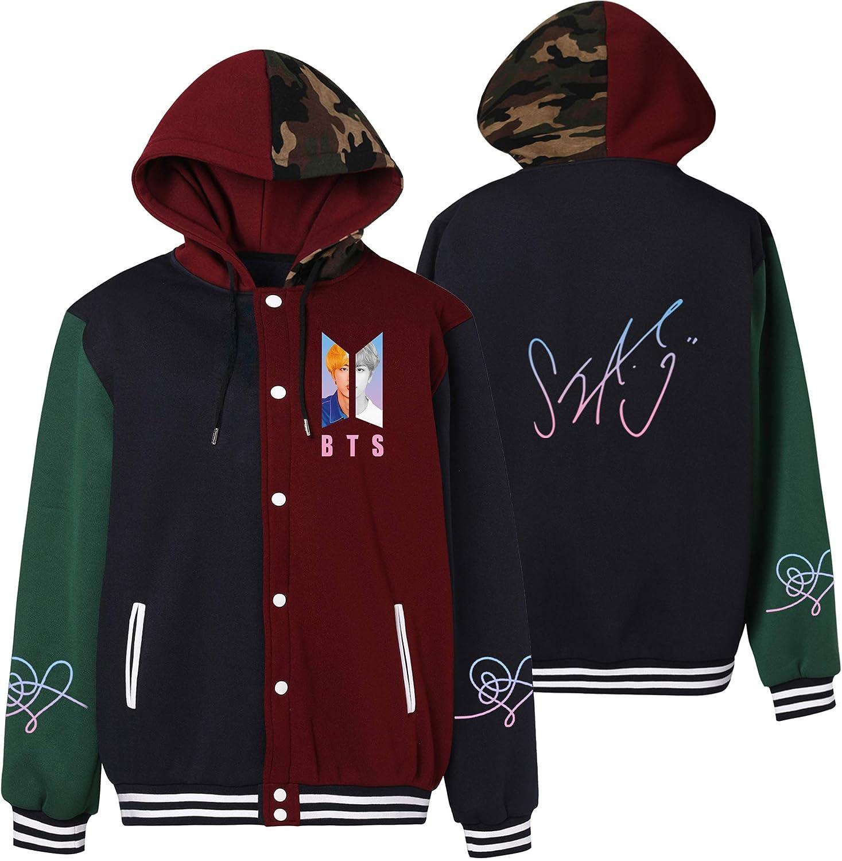 BTS Love Yourself Same Style Hoodie JIMIN JIN SUGA V Jung Kook Hoody Sweatshirt Jacket