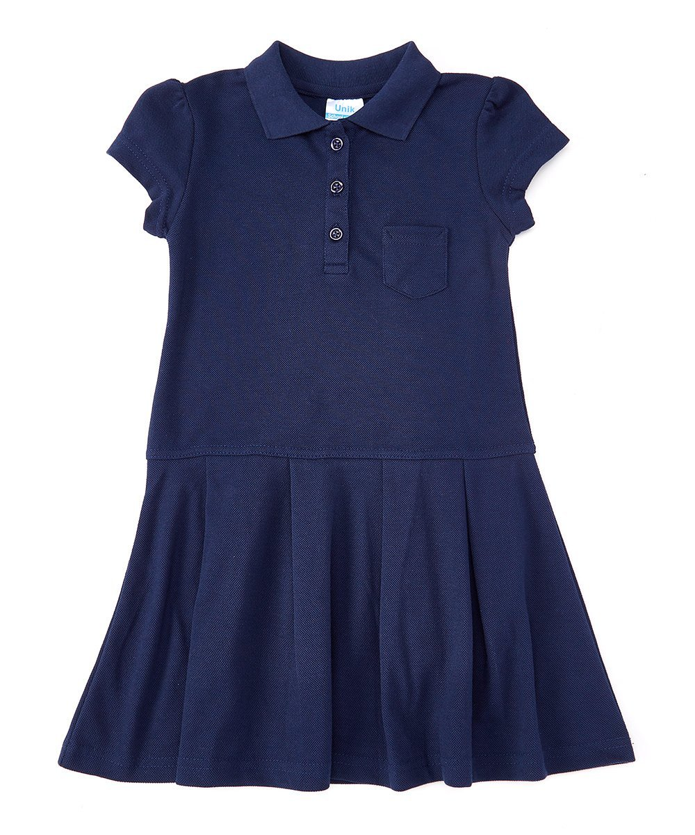 unik Classic Girl Polo Shirt Dress GDU08-P