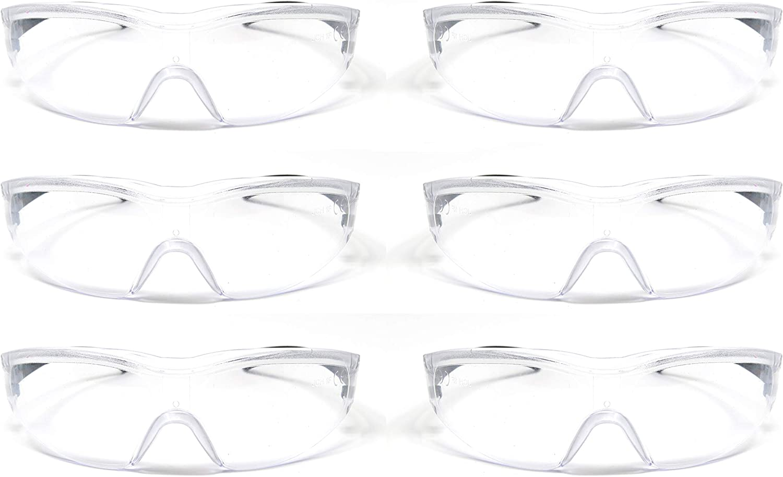 Edz Kidz® - Juego de 6 gafas de seguridad para niños, gafas protectoras para niños, ideales para la escuela y NERF…