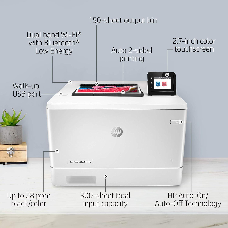HP Color LaserJet Pro M454dw Best HP Printer for Heat Transfers