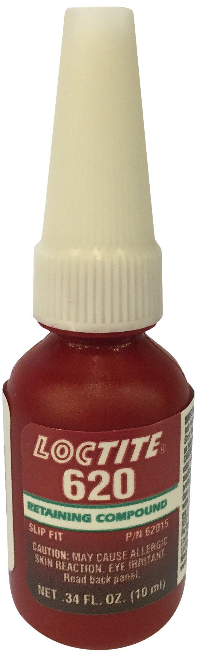 Loctite 234772 Green 620 High Temperature Retaining Compound, 10 mL Bottle
