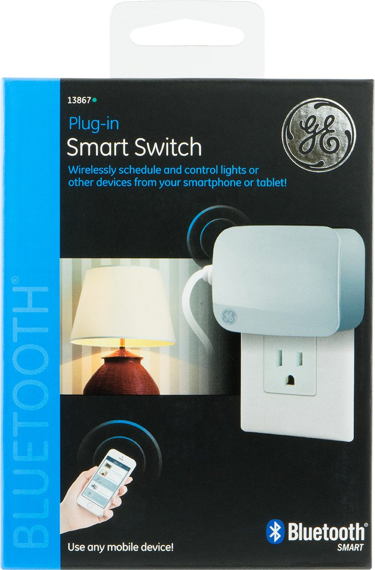 Ge Bluetooth Smart Switch Plug In 13867 Works With Controlled Home Electronic Appliances Block Diagram Alexa Improvement