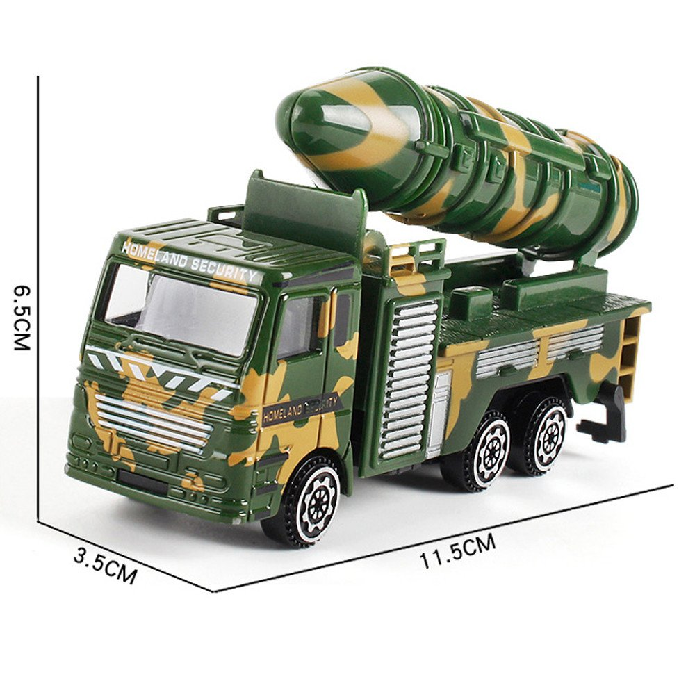Amazon.com: Voberry- Kids Alloy Engineering Toy Car Military Fighter Truck Childrens Birthday Best Toy Gift: Kitchen & Dining