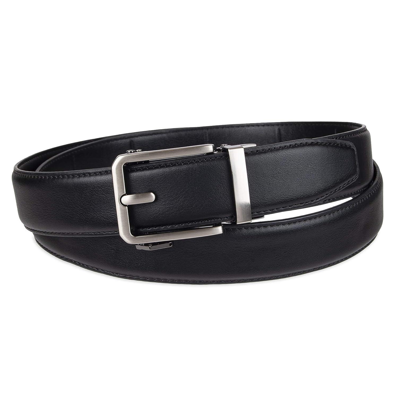 Exact Fit Mens Perfect Fit Adjustable Ratchet Belt
