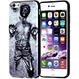 iPhone SE Case, iPhone 5s Case, DURARMOR FlexArmor Star Wars Han Solo Carbonite ScratchSafe Shock-Absorption TPU Bumper Case Slim Fit Soft TPU Protector Cover for for iPhone 5 5s SE