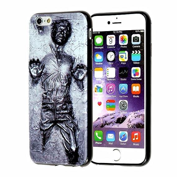 buy online cbf98 ff8fb iPhone SE Case, iPhone 5s Case, DURARMOR FlexArmor Star Wars Han Solo  Carbonite ScratchSafe Shock-Absorption TPU Bumper Case Slim Fit Soft TPU ...