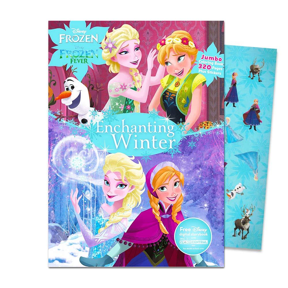 Disney Mlp Coloring Book Super Set For Girls 3 Giant Coloring