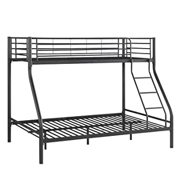 Triple Bunk Bed Metal Frame Children Kid Adult Sleeper Double Bed