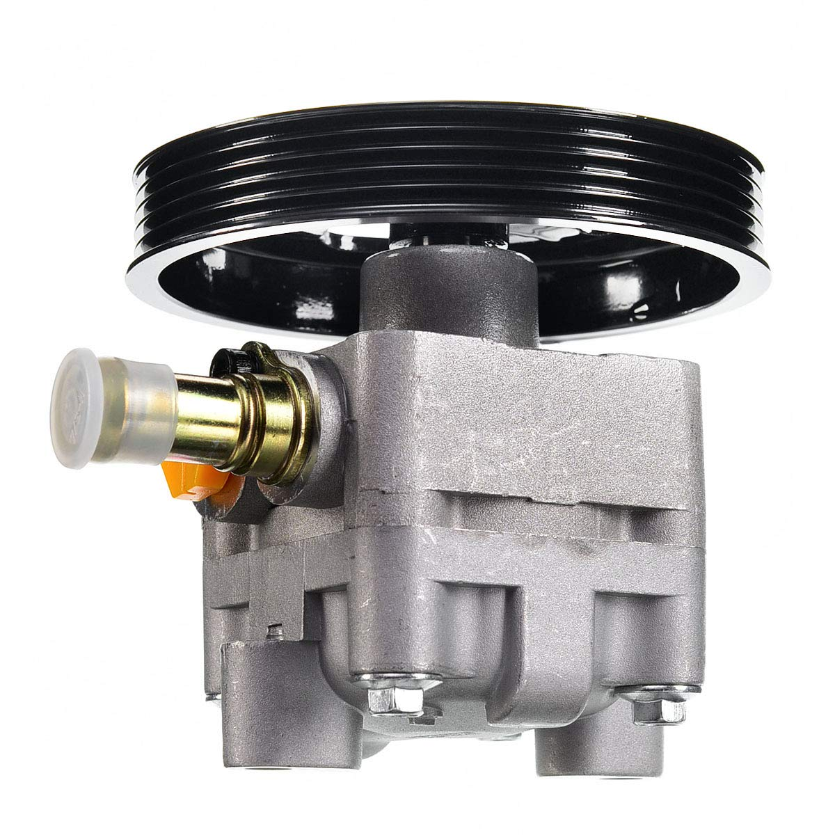 Steering System A-Premium Power Steering Pump with Pulley for ...