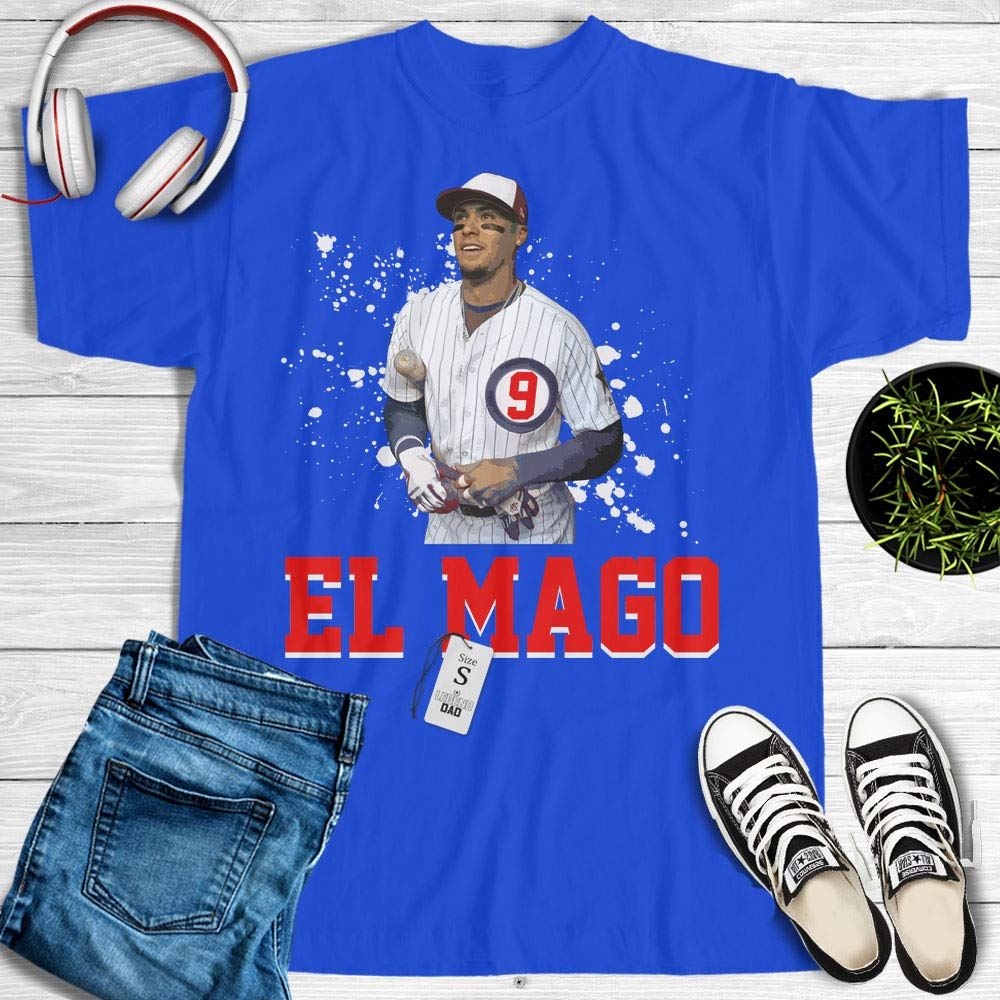 first rate 91d6c 31b74 Amazon.com: Javier Baez We Have And You Don't Shirt Number 9 ...