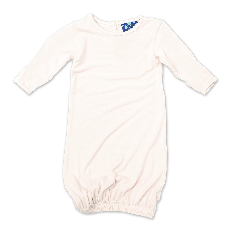 KicKee Pants Layette Gown, Natural KicKeePants PRD-KPLG203-NNPARENT