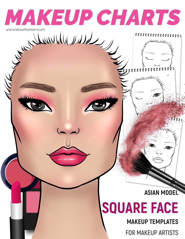 Sensational Makeup Charts Face Charts For Makeup Artists Asian Model Schematic Wiring Diagrams Amerangerunnerswayorg